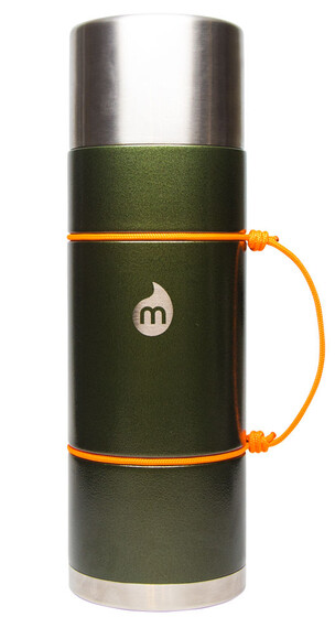 MIZU V10 Insulated Bottle 1000ml Army Green Hammer Paint